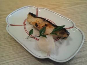 旬魚 炭火焼き御膳(銀鱈の西京焼き)
